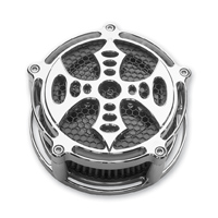 Precision Billet  Bad Axe Billet Air Cleaner Chrome