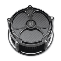 Precision Billet Black Label Billet Air Cleaner Black