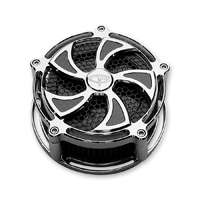 Precision Billet Turbine Billet Air Cleaner Chrome