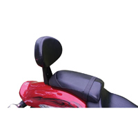 BDD Custom Black Passenger Backrest Kit