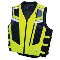 Olympia Moto Sports Unisex Blaze Neon Yellow/Black Vest