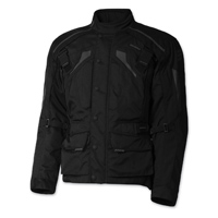 Olympia Moto Sports Men's Richmond Black Textile Jacket