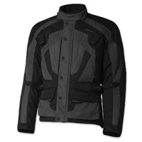 Olympia Moto Sports Men's Richmond Gray Textile Jacket