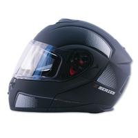 Zox Z-Series Z-MOD10 Atom Matte Black Modular Helmet