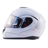 Zox Z-Series Z-MOD10 Atom Pearl White Modular Helmet