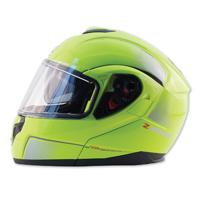 Zox Z-Series Z-MOD10 Atom Hi-Viz Yellow Modular Helmet