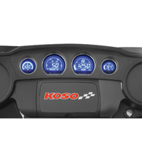 Koso HD-03 Mult-Color 4 Gauge Kit