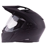Zox Z-Series Z-DS10 Matte Black Full Face Helmet