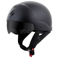 Scorpion EXO Covert Matte Black Half Helmet