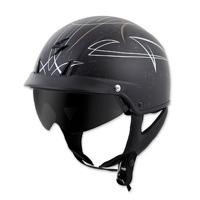 Scorpion EXO EXO-C110 Pinstripe Gold/Silver Half Helmet