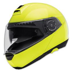 Schuberth C4 Hi-Viz Yellow Modular Helmet