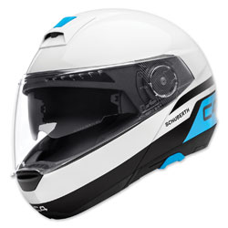 Schuberth C4 Pulse White Modular Helmet