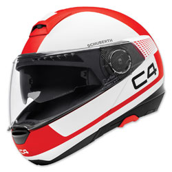 Schuberth C4 Legacy Red Modular Helmet