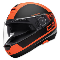 Schuberth C4 Legacy Orange Modular Helmet