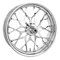 Performance Machine Galaxy Chrome Rear Wheel 18 X 5.5""