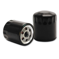 S&S Cycle Black Oil Filter