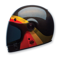 Bell LE Bullitt Carbon Chemical Candy Black/Gold Full Face Helmet