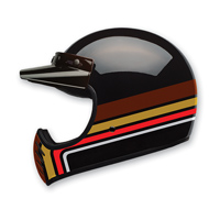 Bell LE Moto-3 Stripes Black/Orange Full Face Helmet