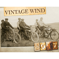 National Motorcycle Museum 2017 Vintage Wind Calendar