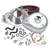 S&S CycleTeardrop Air Cleaner Kit Chrome