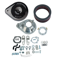 S&S Cycle Teardrop Air Cleaner Kit Gloss Black