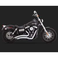 Vance & Hines Big Radius 2 into 2 Exhaust Chrome
