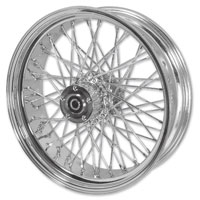 Mid-USA Chrome Complete 40 Spoke Front Wheel 16 X 3""