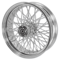 Mid-USA Chrome Complete 40 Spoke Rear Wheel 16 X 3""