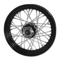 Mid-USA Black 40 Spoke Rear Wheel 16 X 3""