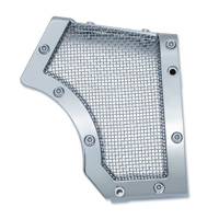 Kuryakyn Mesh Front Pulley Cover, Chrome