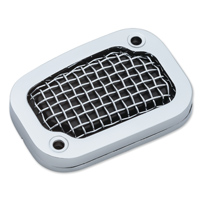Kuryakyn Chrome Mesh Front Master Cylinder Cover