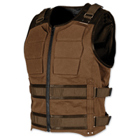 Speed and Strength Men's True Grit Armored Brown Vest