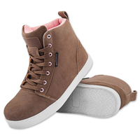 Speed and Strength Women's True Romance Brown Moto Shoes