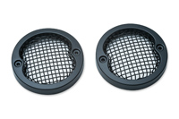 Kuryakyn Mesh Black Bezels for 3-1/4″ Flat Turn Signals