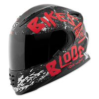 Speed and Strength SS1310 Bikes Are In My Blood Red/Black Full Face Helmet
