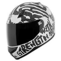 Speed and Strength SS700 Rage With The Machine White/Black Full Face Helmet
