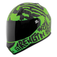 Speed and Strength SS700 Rage With The Machine Green/Black Full Face Helmet