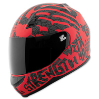 Speed and Strength SS700 Rage With The Machine Red/Black Full Face Helmet