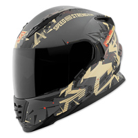 Speed and Strength Critical Mass Sand/Charcoal Full Face Helmet