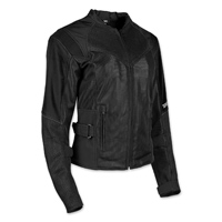 Speed and Strength Women's Sinfully Sweet Black Mesh Jacket