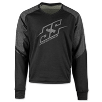Speed and Strength Men's Critical Mass Gray/Black Moto Shirt