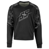 Speed and Strength Men's Critical Mass Camo/Black Moto Shirt