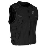Speed and Strength Men's Critical Mass Armored Black Vest