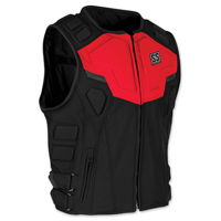 Speed and Strength Men's Critical Mass Armored Red/Black Vest
