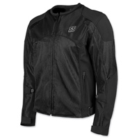 Speed and Strength Men's Midnight Express Black Mesh Jacket
