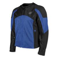 Speed and Strength Men's Midnight Express Blue/Black Mesh Jacket