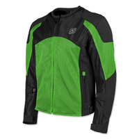 Speed and Strength Men's Midnight Express Green/Black Mesh Jacket