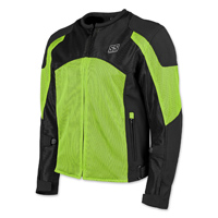 Speed and Strength Men's Midnight Express Hi-Viz/Black Mesh Jacket