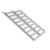 Quadboss Arched Bi-Fold Quadlite Ramp 69″ x 48″