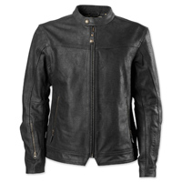 RSD Apparel Men's Walker Black Perforated Leather Jacket